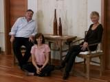 Werner Krass mit Anna und Marie-Theres